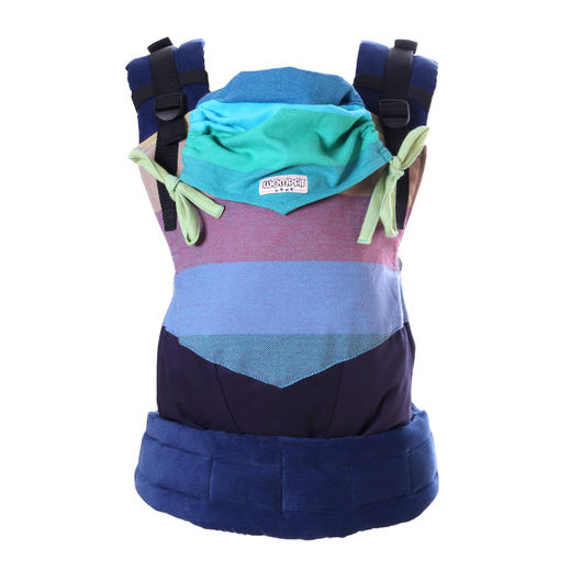 Wompat ILO baby carrier Rainbow Blue